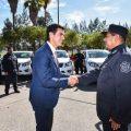 Urtubey entregó 7 camionetas 0Km a la Policía de la Provincia