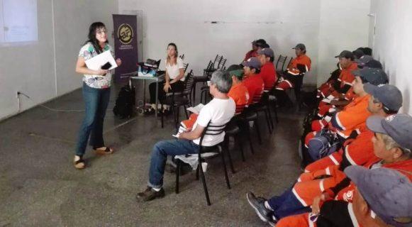 Continúa la capacitación en violencia de género para empleados de Agrotécnica Fueguina