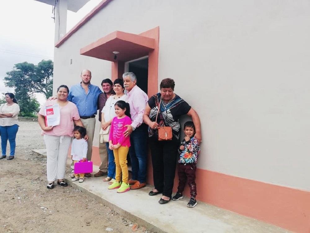 Familias de Campo Santo se beneficiaron con viviendas y soluciones habitacionales