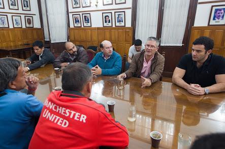 Diputados mantuvieron una reunión con Gremios del tabaco