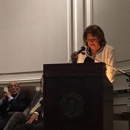 Funcionaria salteña recibió el premio Hipócrates de la Academia Nacional de Medicina