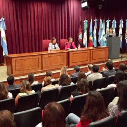 Presentaron el plan de modernización para la mejora continua y el ahorro de papel en el Ministerio Público