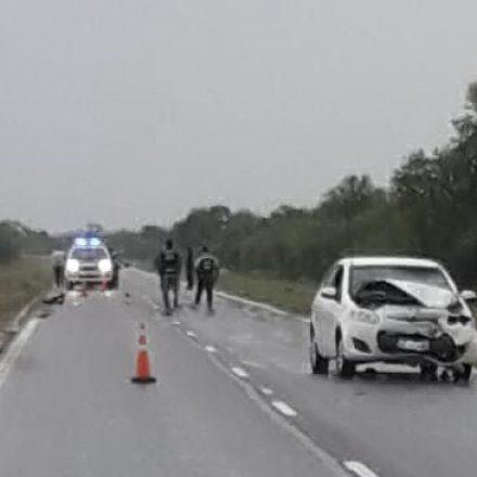 Siniestro vial con dos víctimas fatales
