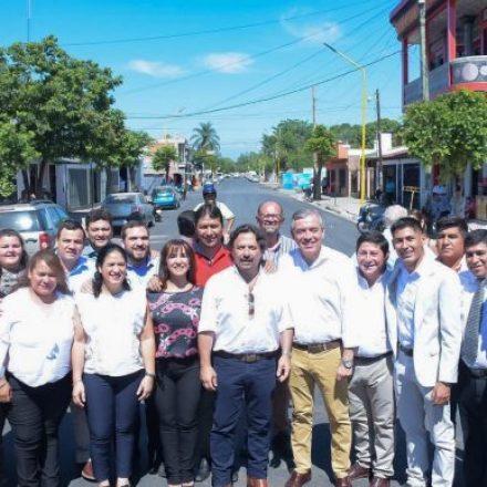 Sáenz recorrió obras en Orán y Pichanal