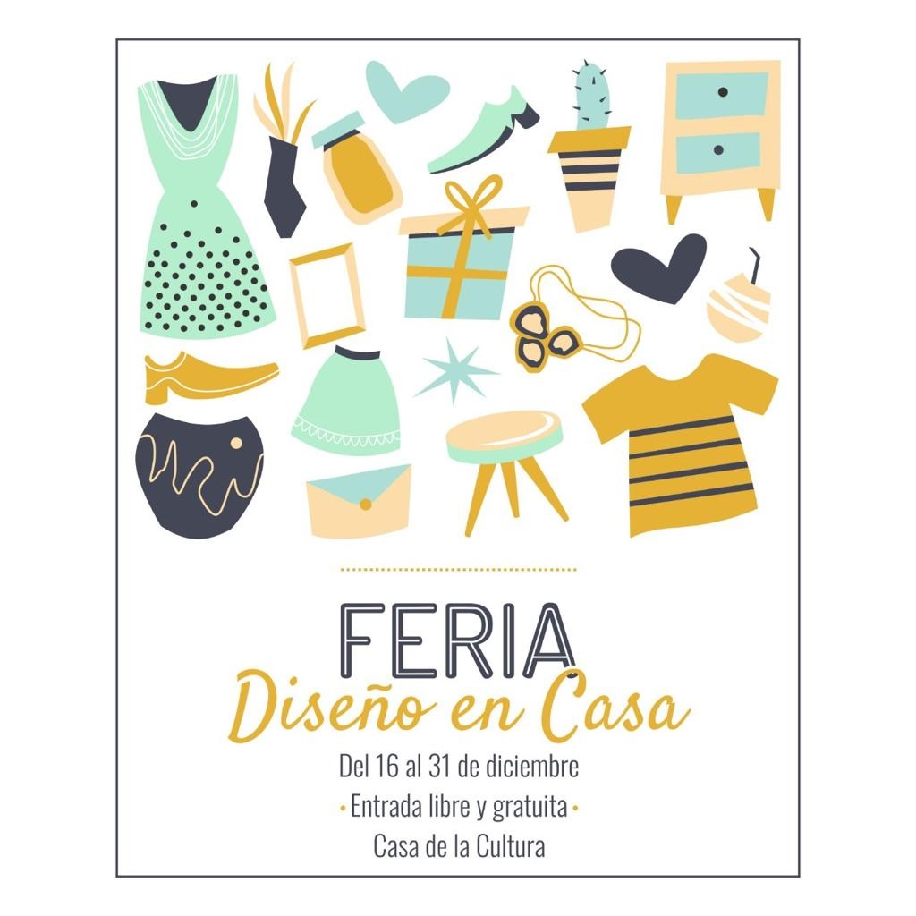 Con entrada libre y gratuita, Feria Diseño en Casa