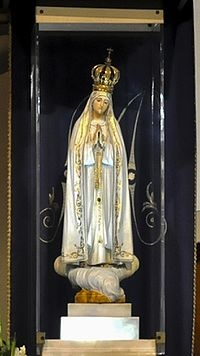 La imagen peregrina de la Virgen de Fátima en Salta