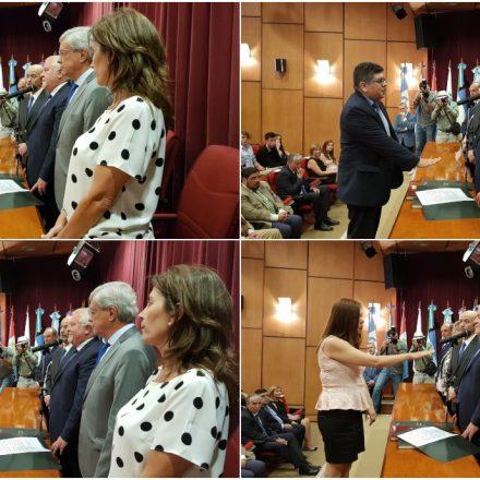 Juraron cuatro abogados que se desempeñarán como jueces del Poder Judicial