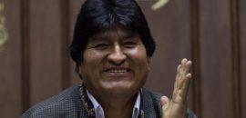 Evo Morales: «Arribé a la Argentina, para seguir luchando por los más humildes y para unir a la Patria Grande»