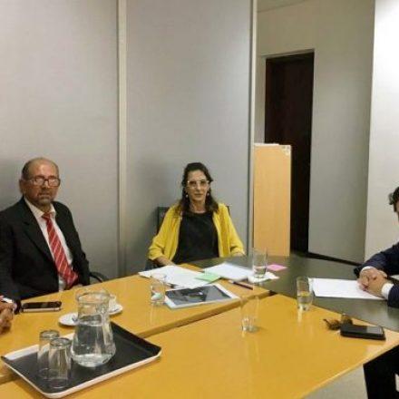 Sáenz coordinó acciones con Nación en materia de obra pública y vivienda
