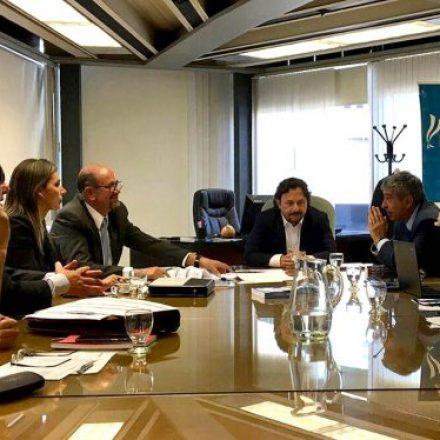 Sáenz gestionó una solución definitiva a la problemática del agua en el departamento San Martín