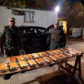 Viajaban hacia Tucumán con 24 kilos de cocaína ocultos en el aire acondicionado de su vehículo