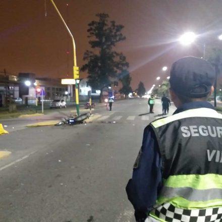 Siniestro vial con víctima fatal sobre avenida Paraguay de la Capital