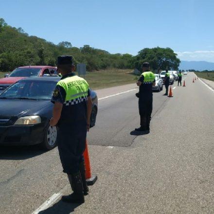 Este fin de semana los controles viales detectaron 126 conductores alcoholizados