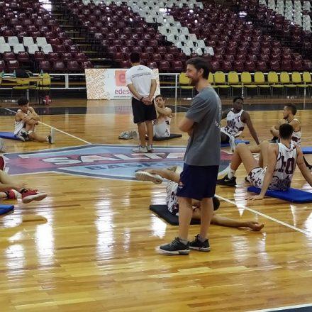 Los Infernales de Salta Basket arrancaron el 2020 pensando en Independiente de Santiago