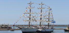 Llegó la fragata ARA Libertad entre ellos el salteño y Cabo Principal de Operaciones Carlos Flores