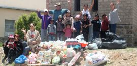 Integrantes de la Fundación Alfarcito compartieron una jornada especial con la comunidad de El Rosal