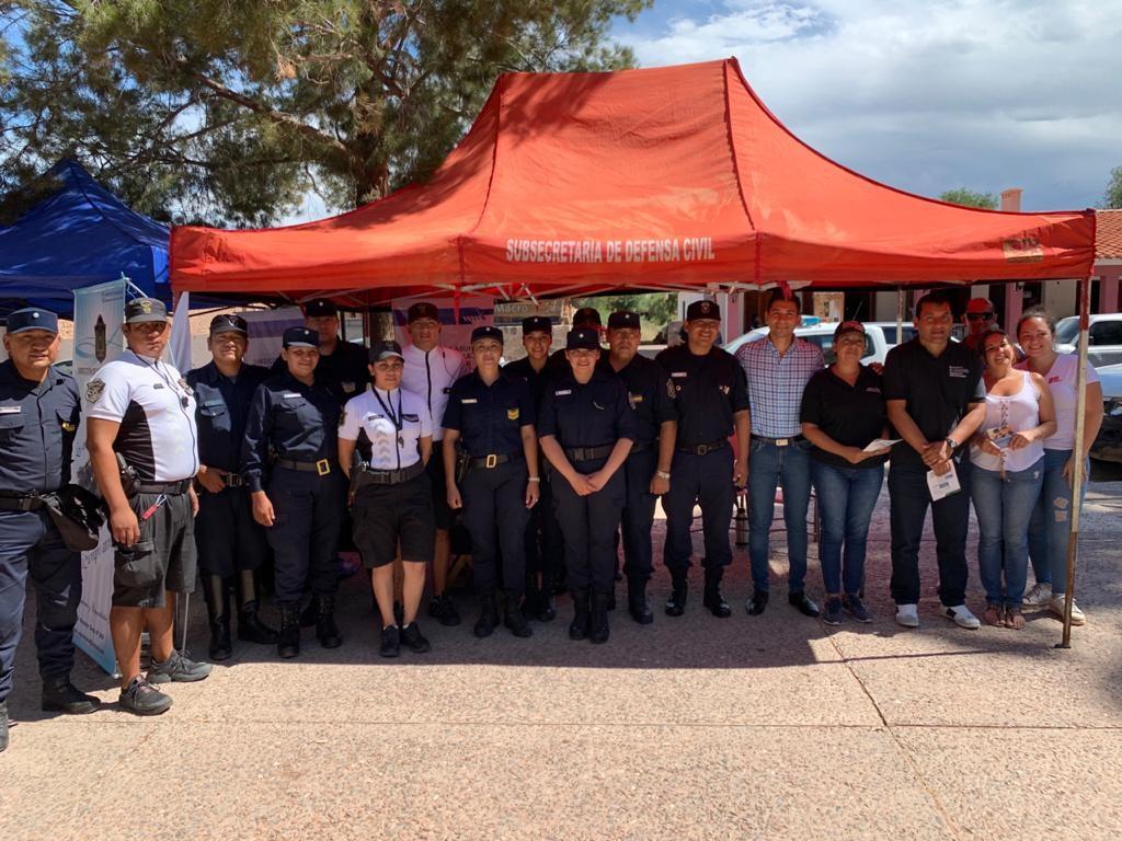 Este fin de semana, Policía de la provincia realizó un trabajo preventivo en el Festival de San Carlos