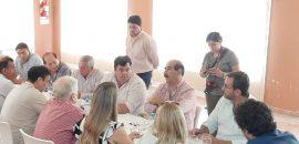 La AMT inició las reuniones con intendentes del interior