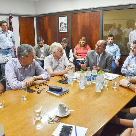 Gobierno provincial y nueve municipios norteños trabajan con un consorcio de obras públicas