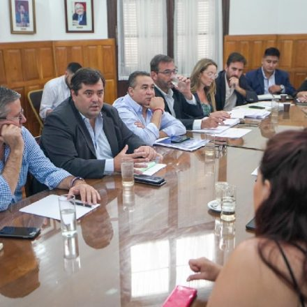 Diputados abordaron la situación del transporte público con autoridades de la AMT