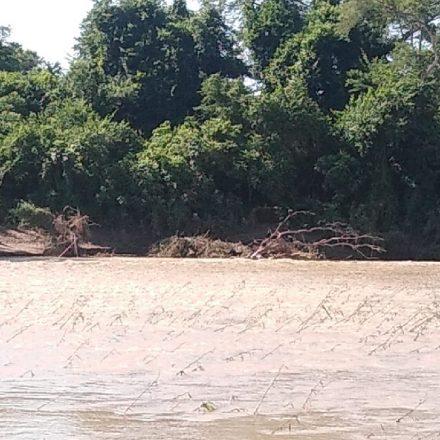 Rescatan un cuerpo sin vida en el Rio Bermejo