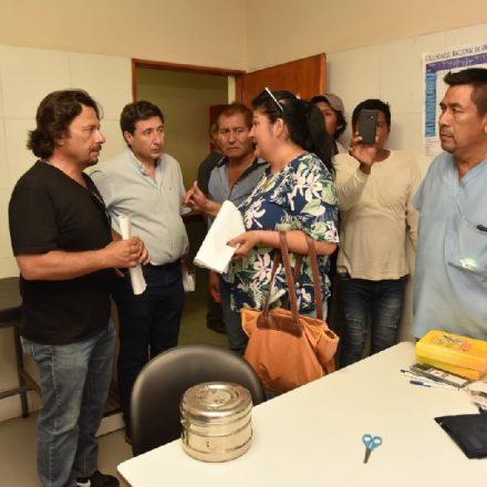 El Gobernador junto al Ministro de Desarrollo Social de la Nación recorrieron parajes de Santa Victoria Este