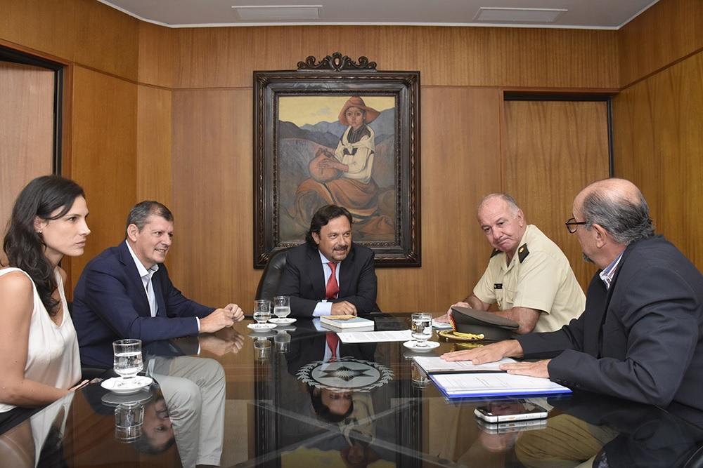Sáenz gestiona la exploración de nuevos pozos de agua en la provincia