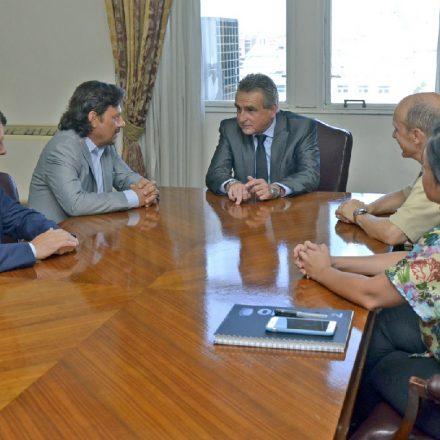 El ministro Rossi se reunió con el gobernador Sáenz y acordaron trabajar conjuntamente para abastecer de agua potable a zonas vulnerables