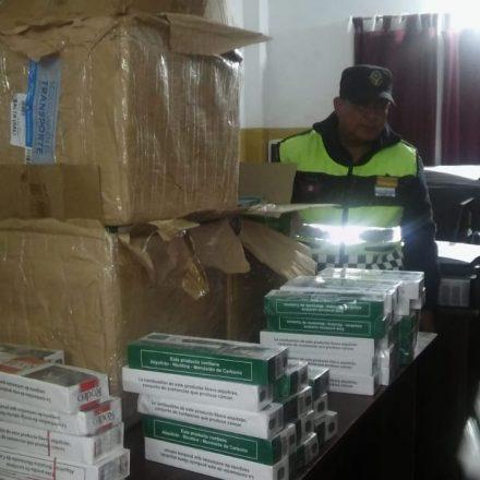 Secuestran mercadería ilegal valuado en más de 180 mil pesos
