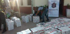 Secuestran más de un millón y medio de pesos en  mercadería ilegal