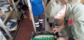 Hallan 20 kilos de hojas de coca en un depósito de la terminal de ómnibus