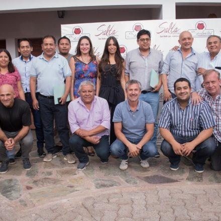 Funcionarios de Turismo en reunión con el Foro de Intendentes