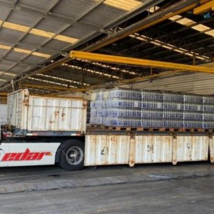 Una empresa donó 108 mil litros de agua para Salta