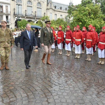 El vicegobernador Marocco presidió el acto central en homenaje al General Güemes