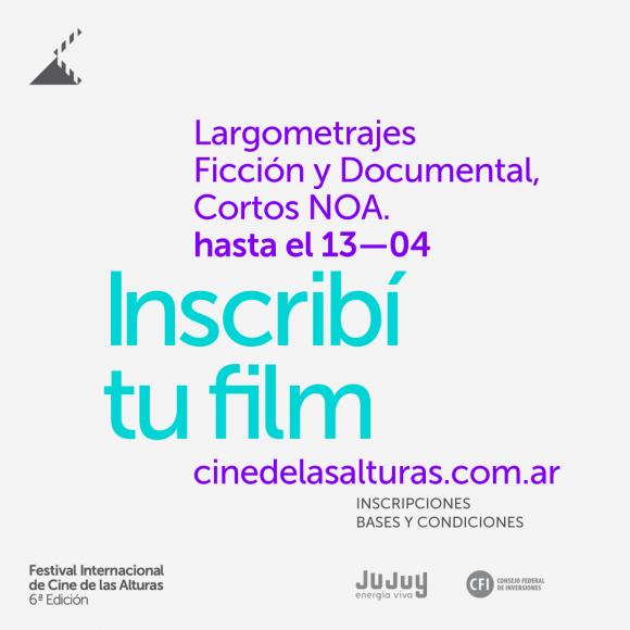 «El Festival Internacional de Cine de las Alturas abre su convocatoria para la Edición 2020»