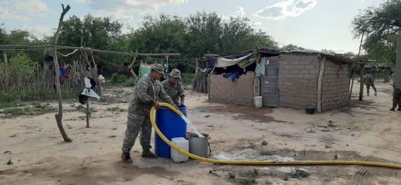 Rossi recorrerá las zonas vulnerables de Salta donde el Ejército brinda asistencia
