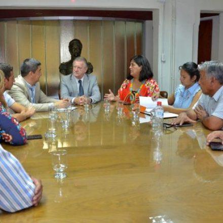 Marocco recibió a concejales y autoridades escolares del departamento General Güemes