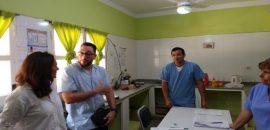 Medrano supervisó las acciones sanitarias que se llevan adelante en Tartagal y Santa Victoria Este