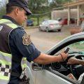 Tras fiscalizar más de 21.000 vehículos durante el fin de semana, detectan 62 conductores alcoholizados