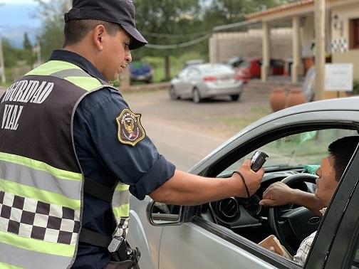 Detectaron 145 conductores alcoholizados durante el fin de semana