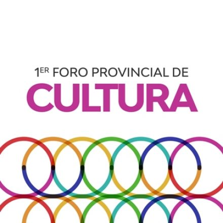 Se realizará el Primer Foro Provincial de Cultura en la Usina Cultural