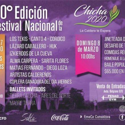 La Caldera celebra la trigésima edición del Festival Nacional de la Chicha