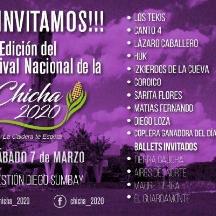 30°  Edición del Festival Nacional de la Chicha 2020