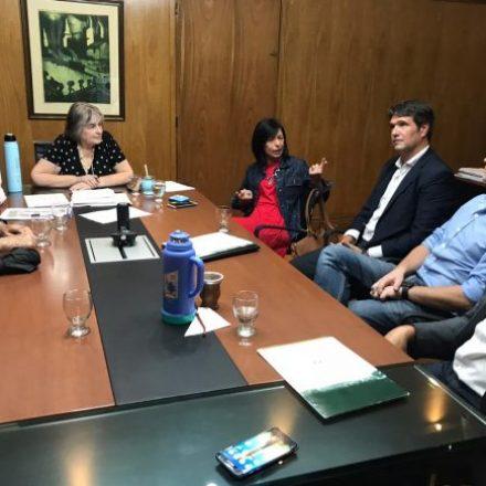 La senadora nacional Nora Giménez y productores tabacaleros realizaron gestiones ante el Ministerio de Agricultura