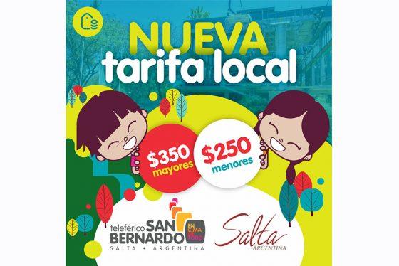 El Teleférico San Bernardo ofrece tarifas especiales para salteños