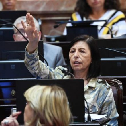 La senadora nacional Nora Giménez propuso recordar al exgobernador Miguel Ragone con la impresión de un billete