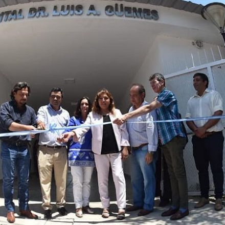 El Hospital de Aguaray amplió su capacidad operativa