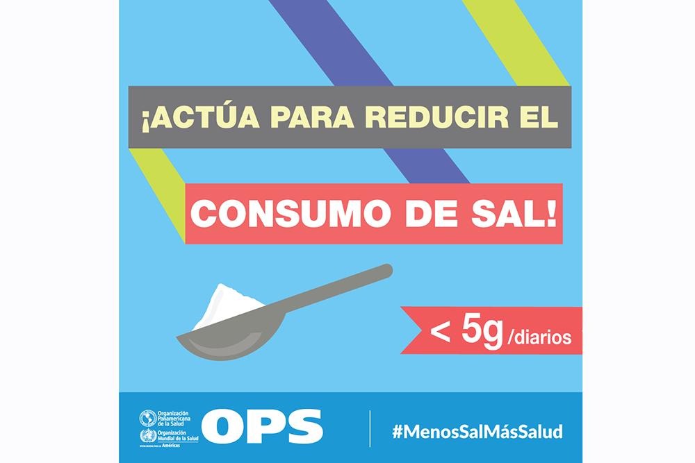 Semana Mundial de Concientización sobre el Consumo de Sal