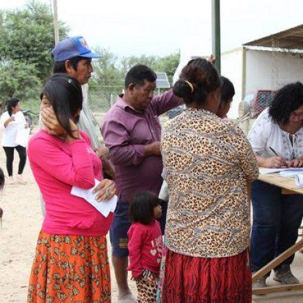 Comienza la segunda ronda del abordaje sociosanitario en comunidades del norte