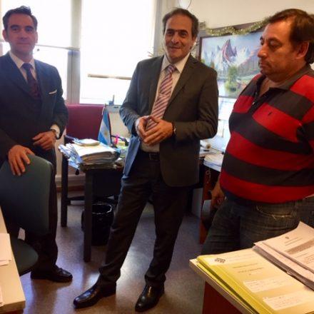 García Castiella recorrió dependencias del Ministerio Público de la Defensa
